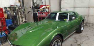 1972 Corvette Coupe with 3,700 Original Miles Uncovered in Canada
