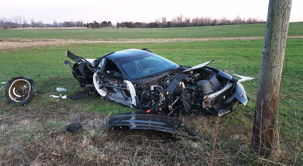 Accident C5 Corvette Crash In Kentucky Claims One Life