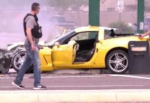 [VIDEO] Arizona Murder Suspect Carjacks Corvette Before Being Shot Dead by Police