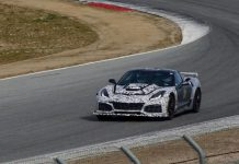[SPIED] 2018 Corvette ZR1s Spotted on the Track at Leguna Seca
