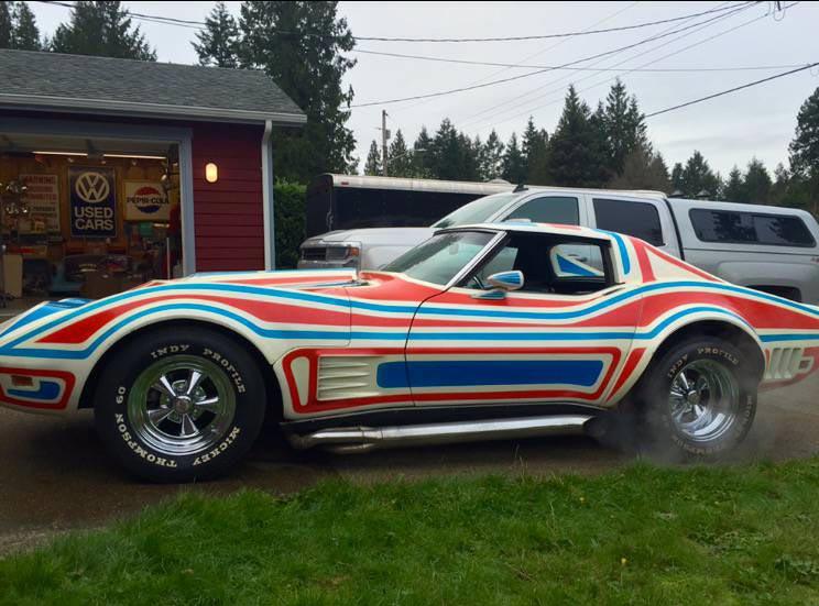 Corvettes on Craigslist: Custom 1969 Corvette Bicentennial ...