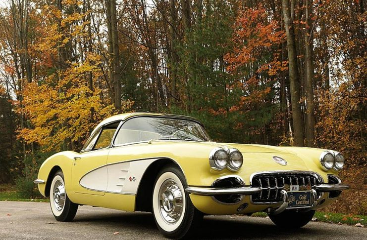 Owner's Death Sets Off Custody Dispute of a 1958 Corvette Valued at $97,000