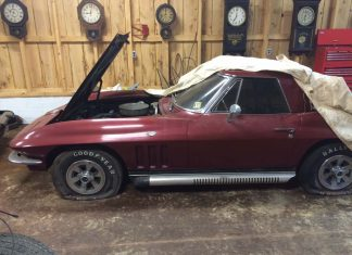 Corvettes on eBay: 38K Mile 1966 Corvette Barn Find Parked Since 1976