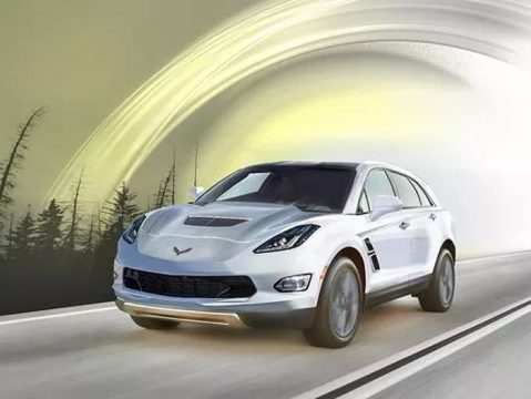 Detroit News Asks 'Hey, what if GM built a Corvette SUV?'