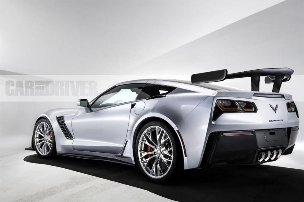 Car and Driver Renders the 2018 Corvette ZR1 and Names it ...