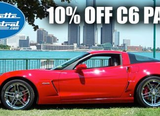 Save 10% On C6 Corvette Parts from Corvette Central