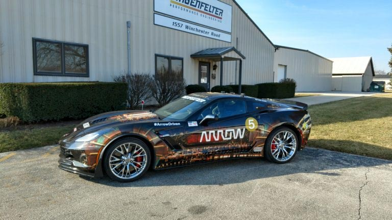 lingenfelter partnering with arrow with upgrade their semi autonomous corvett. Cars Review. Best American Auto & Cars Review