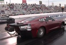 [VIDEO] 4000-hp Corvette Dragster Goes Airborne in Wild Ride