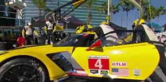 [VIDEO] Corvette Racing at Long Beach: Practice Makes Perfect Pit Stops