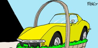 Saturday Morning Corvette Comic: Happy Easter!