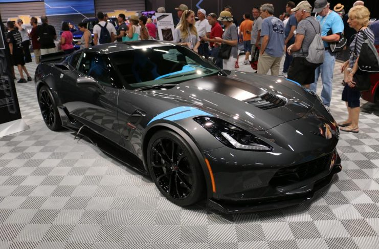 Corvette Museum To Raffle VIN 003 2017 Corvette Grand Sport Collector Edition