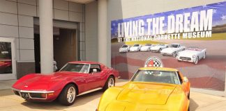 You Can Own the Corvette Museum's Living The Dream Corvette Banner