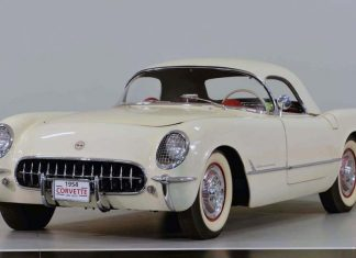 1954 Corvette VIN 010 Headed to Mecum's Indianapolis Auction