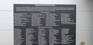 [VIDEO] The National Corvette Museum Unveils the Donors Plaque at the NCM Motorsports Park