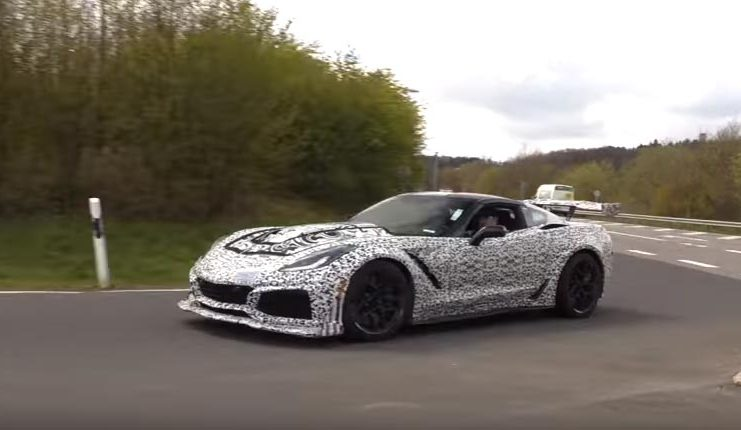 Former NASA Scientist: That Corvette ZR1 on the Nurburgring is Redlining at 9000 RPMs