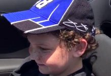 [VIDEO] Jimmie Johnson Offers Up Some Donuts with a Young Fan in a Corvette Z06