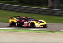 [VIDEO] Sights and Sounds of the Larbre Competition's Corvette C7.R at Monza