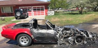 [ACCIDENT] Ruptured Fuel Line Leads to Loss of C3 Corvette