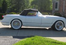 Corvettes on eBay: 1953 Corvette with VIN 184
