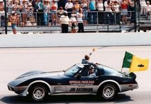 [GALLERY] Every Indy 500 Corvette Pace Car and its Celebrity Driver (15 Corvette photos)