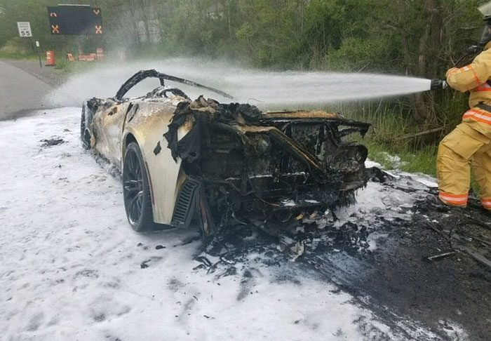 [ACCIDENT] NY Man Shares Story of When His Corvette Z06 Caught Fire