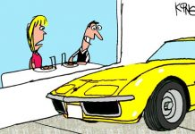 Saturday Morning Corvette Comic: The Downside of Parking Where You Can See It