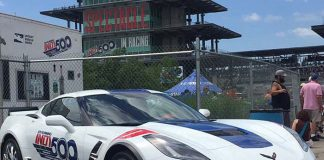 2017 Corvette Grand Sport Paces the 101st Indianapolis 500