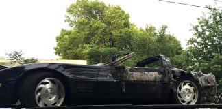 Nashville Police Searching for Carjacker Who Shot the Owner of a C4 Corvette