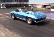 [VIDEO] Twin-Turbo 1967 Corvette Runs in the Nines!