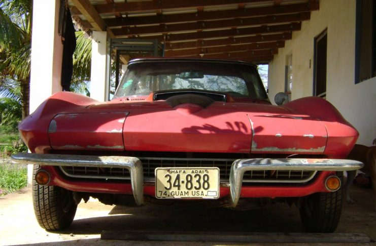 Corvettes on Craigslist: Exiled 1967 Corvette on the Island of Guam