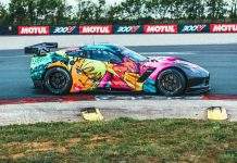 [PICS] Larbre Competition Unveils Corvette C7.R Art Car Livery for the 24 Hours of Le Mans