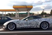 [VIDEO] 2018 Corvette ZR1 Convertible Prototypes Now Wearing Chrome Wheels