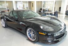 Corvettes on eBay: Dale Jr's 2009 Corvette ZR1