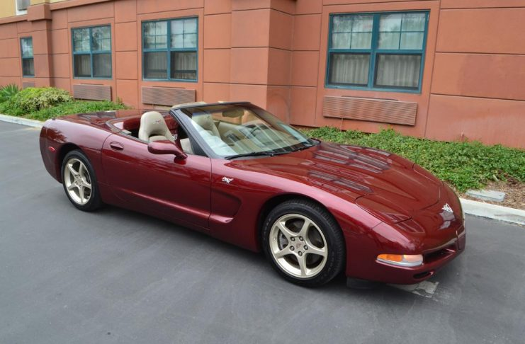 Collectible Corvettes: 2003 Corvette 50th Anniversary Convertible