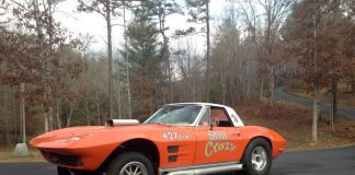 Corvettes on Craigslist: 1964 Corvette Convertible Gasser