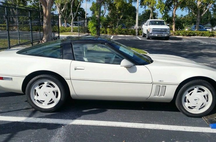 Corvettes on eBay: Survivor 1988 35th Anniversary Corvette with Manual Transmission