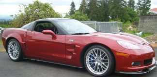 2011 Corvette ZR1 Sells for $56,000 at Mecum's Portland Auction