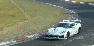 [VIDEO] GoPro Wearing 2018 Corvette ZR1 Prototype Spotted at the Nurburgring