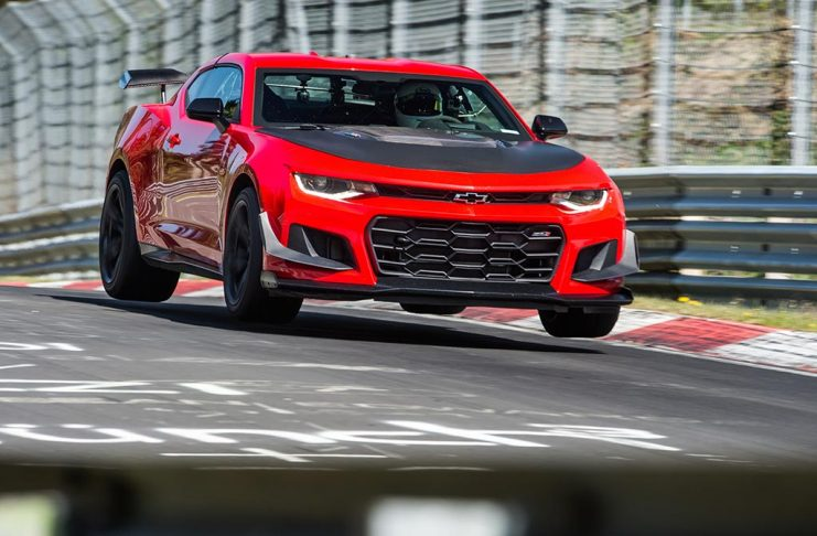 [VIDEO] Camaro ZL1 ILE Rocks the Nurburgring in 7:16.04