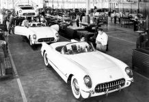 Happy Birthday Corvette! America's Favorite Sports Car Turns 64 Years Old Today!