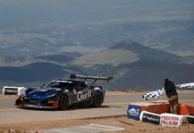 [VIDEO] Salvage Corvette Z06 is the Fastest Corvette Ever at Pikes Peak
