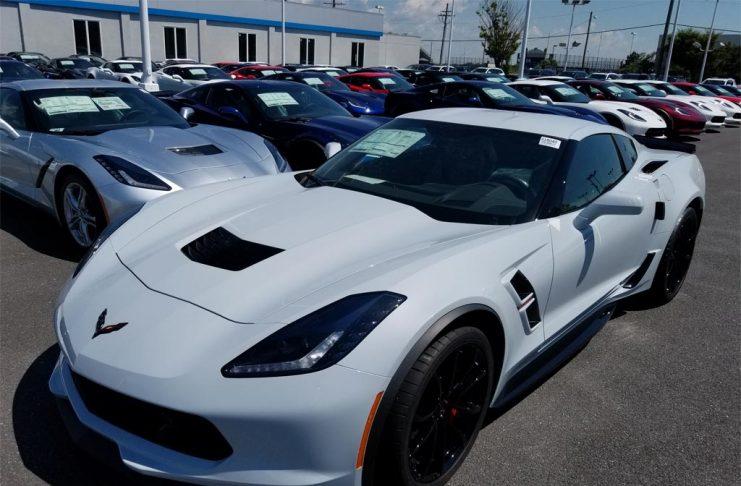 June 2017 Corvette Sales