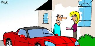 Sunday Morning Corvette Comic: Happy Anniversary!