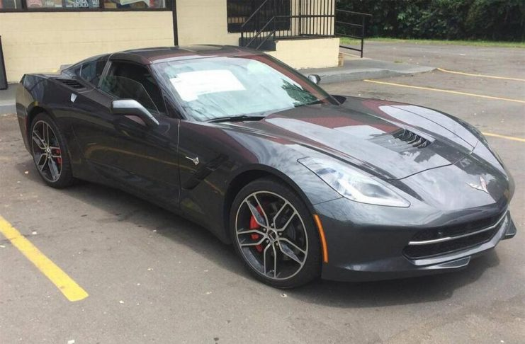 [STOLEN] Cops Track Down Stupid Criminal Who Stole a C7 Corvette From Dealership