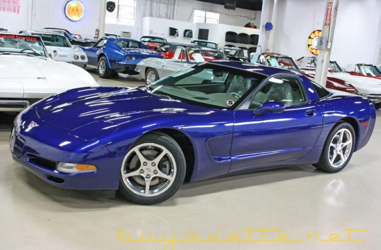 The Last C5 Corvette with 29 Original Miles and an MSO is for sale for $1 Million at BuyAVette.net
