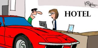 Saturday Morning Corvette Comic: A Room for Two Please!