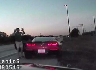 [VIDEO] Pistol Packing Priest in a Corvette Stingray Arrested for Road Rage Incident