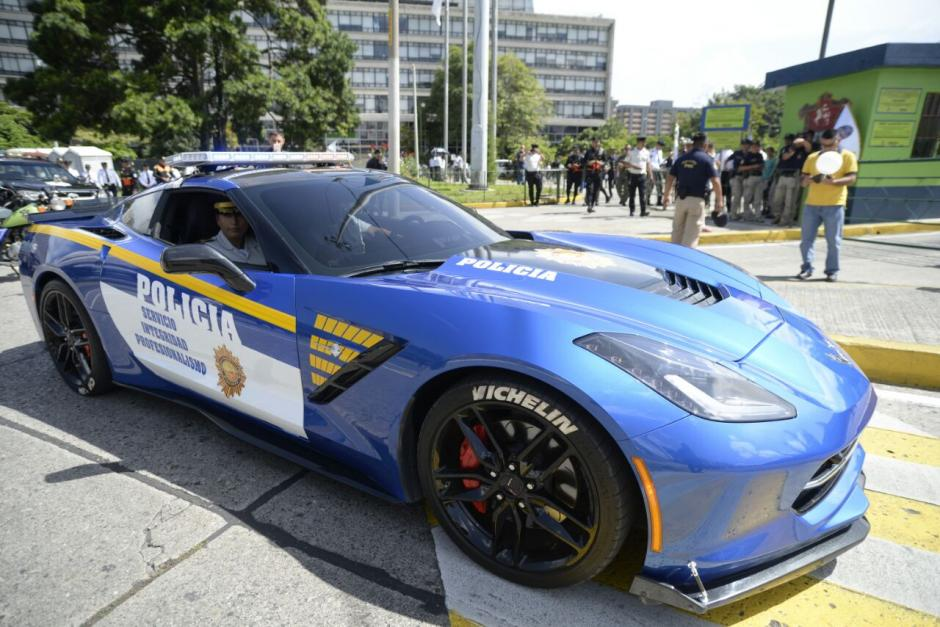 [PICS] Guatemala Cops Seize a Corvette Stingray from a ...