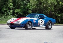 1968 Corvette L88 Sunray-DX Racer Headed to Worldwide Auctioneers' Monterey Sale