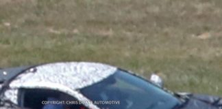 New Spy Photos Show C8 Mid Engine Corvette as Engineers Scramble to Cover it